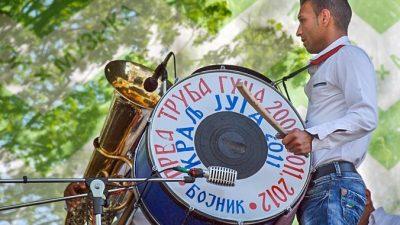 Танцевальный коллектив Mosquitos выступил на втором международном фестивале шагающих оркестров