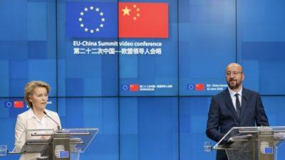 ЕС требует от Китая доступа к рынкам и уважения прав человека