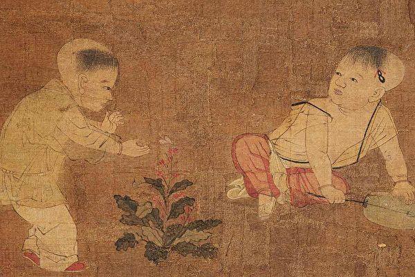 «Дети играют», картина китайского художника Су Ханьчэнь периода династии Сун Public Domain   Epoch Times Россия