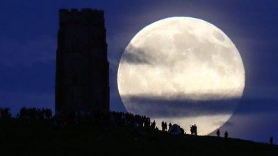 В атмосфере Луны нашли неон
