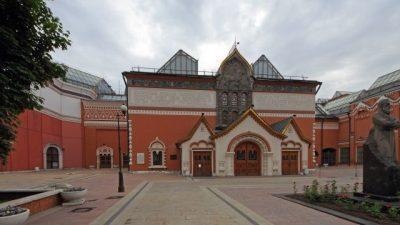 На здании Третьяковской галереи в новогодние праздники появится мультимедийная выставка