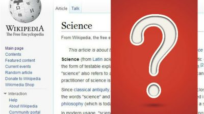 Википедия: кризис идентичности