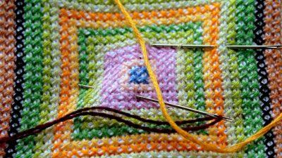 Творческий подход к вышивке