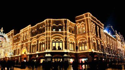 Рестораны предновогодней Москвы