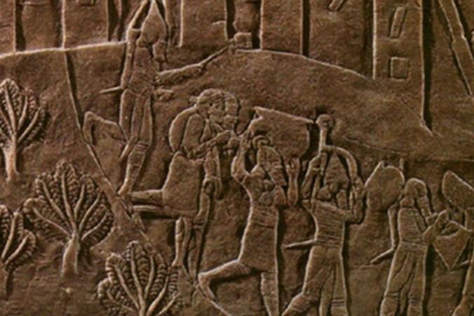 Что случилось в древнем эламском городе Хафт Тепе? Деталь рельефа. (commons.wikimedia.org/CC BY-SA 3.0)   Epoch Times Россия
