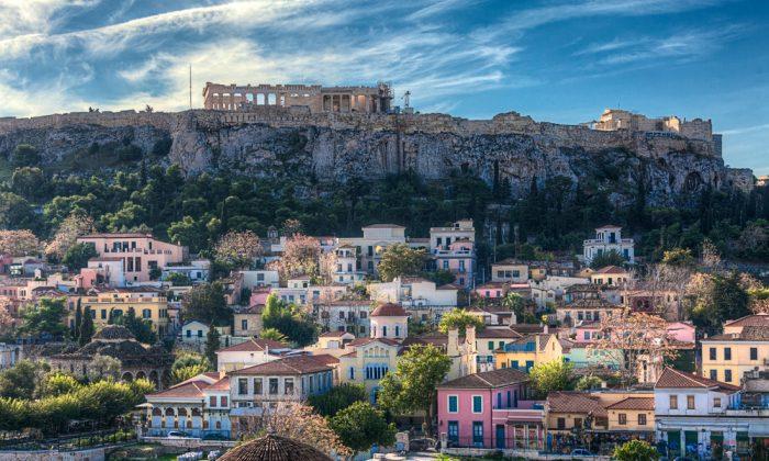 Акрополь в Афинах, Греция через Shutterstock *   Epoch Times Россия