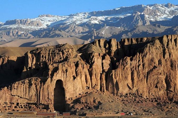 Место, где стояла большая статуя Будды в долине Бамиан, Афганистан. Фото: Afghanistan Matters/Commons.wikimedia.org/CC BY 2.0 | Epoch Times Россия