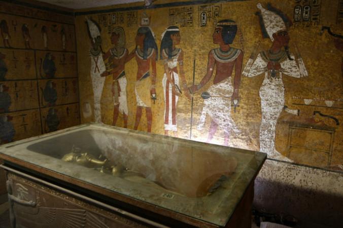 В Египте найдено погребение детей фараонов