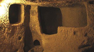 Кто построил подземный город Деринкую?