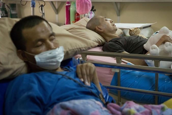 ВИЧ-больные в Таиланде. Фото: Taylor Weidman/Getty Images) | Epoch Times Россия