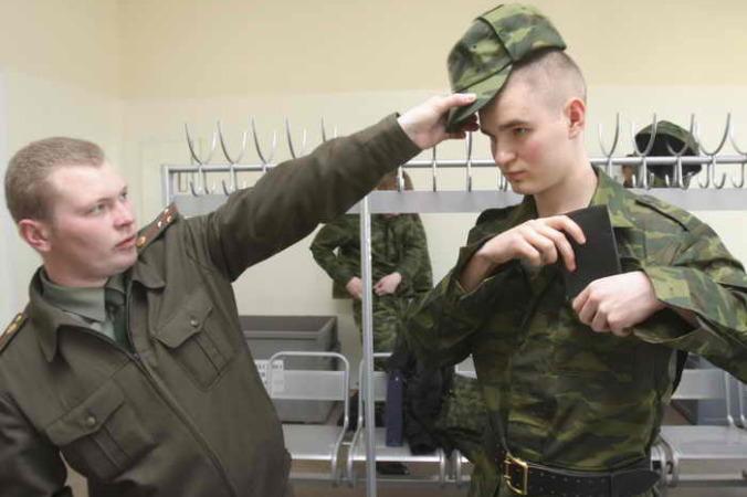 В армии. Фото: KIRILL KUDRJAVTSEV/AFP/Getty Images | Epoch Times Россия