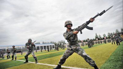 В Китае проходят 90-дневные крупномасштабные военные учения