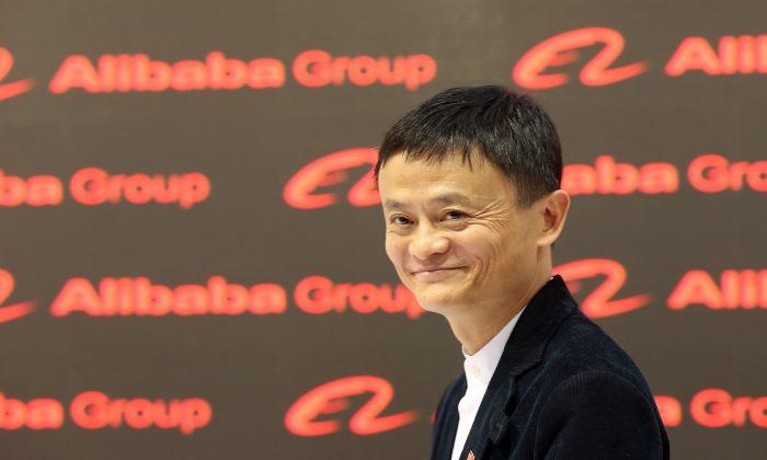 Исполнительный председатель Alibaba Group Джек Ма посетит технологическую выставку 2015 CeBIT 16 марта 2015 года в Ганновере, Германия. (Шон Гэллап / Getty Images) | Epoch Times Россия
