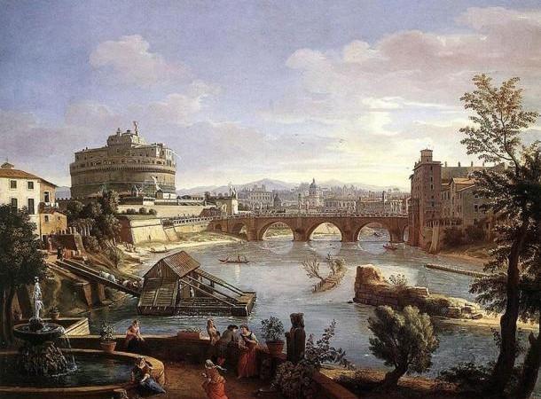 Замок Кастель Сант-Анджело в Риме, Италия. Фото: Public Domain | Epoch Times Россия