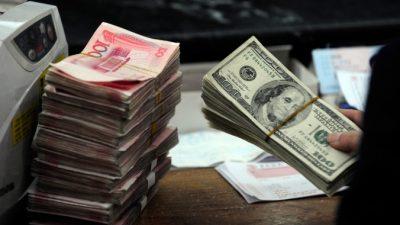 Китайские власти пытаются пресечь отток денег из страны