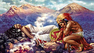 Попокатепетль и Истаксиуатль: ацтекская легенда о трагической любви