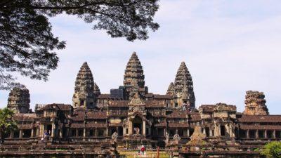 Затерянный в джунглях Камбоджи город