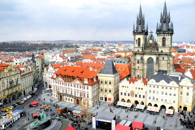 Лучшая обзорная площадка в Праге. Фото: Алла Лавриненко/Великая Эпоха   Epoch Times Россия