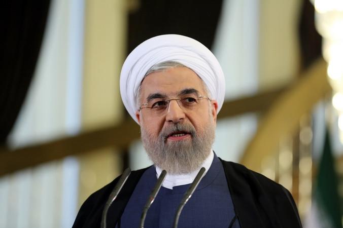 Президент Ирана Хасан Рухани. Фото: ATTA KENARE/AFP/Getty Images | Epoch Times Россия