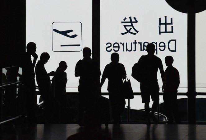 Более ста рейсов между Пекином и Шанхаем были отменены во второй половине дня 14 июля якобы из-за военных учений, согласно китайским государственным СМИ. Фото: GREG BAKER/AFP/Getty Images | Epoch Times Россия