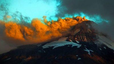 В Чили началось извержение вулкана Вильяррика