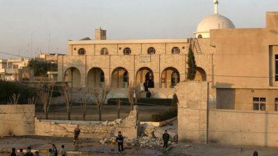 ИГ уничтожило христианский монастырь в Ираке