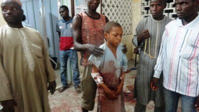 В Нигерии террористка-подросток взорвалась в толпе детей
