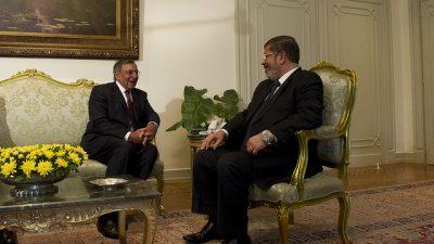 Бывший президент Египта Мурси приговорён к смертной казни
