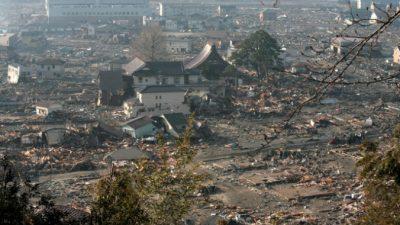 В Японии объявили об угрозе цунами, но потом отменили