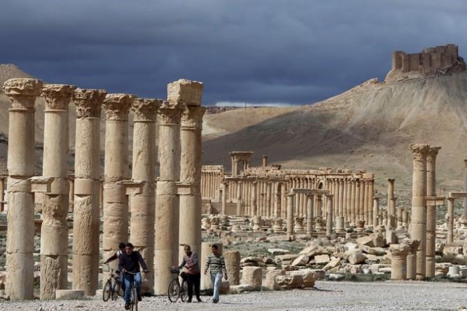 Пальмира. Фото: JOSEPH EID/AFP/Getty Images | Epoch Times Россия