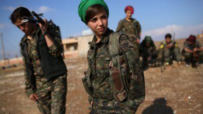 Курды празднуют освобождение Кобани от ИГИЛ