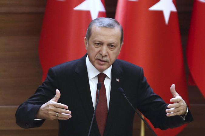 Президент Турции Реджеп Тайип Эрдоган. Фото: ADEM ALTAN/AFP/Getty Images | Epoch Times Россия