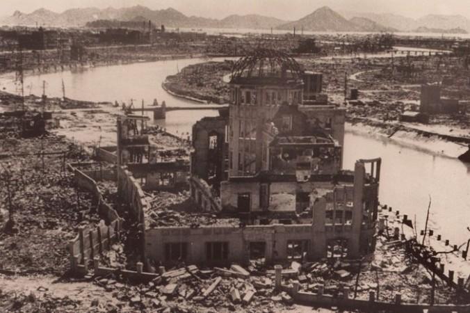 Хиросима после атомной бомбардировки. Фото: AFP/Getty Images   Epoch Times Россия