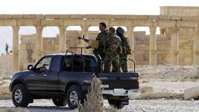 Военные в Сирии готовят наземную операцию против ИГИЛ