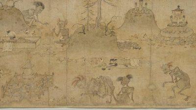 Китайская легенда: боги любят праведность, а демоны её боятся