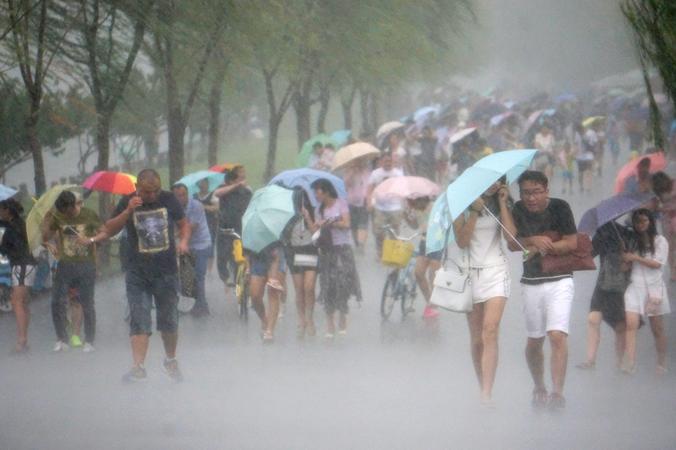 Тайфун «Соуделор». Китай. Фото: ChinaFotoPress/Getty Images | Epoch Times Россия