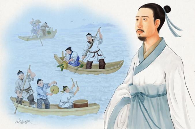 Праздник драконьих лодок и поэт Цюй Юань