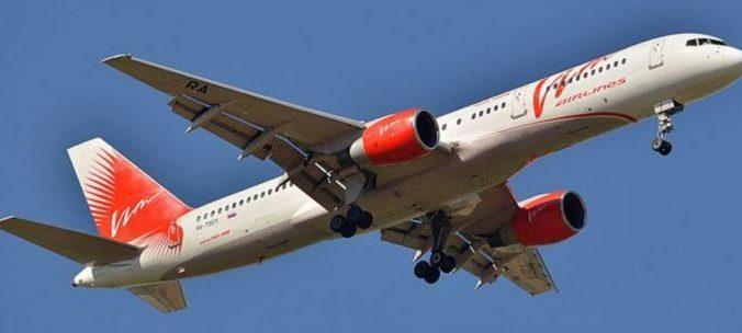 Самолёт Boeing 757-200 «ВИМ-Авиа». Фото: Sergey Korovkin 84/commons.wikimedia.org/CC BY-SA 3.0 | Epoch Times Россия
