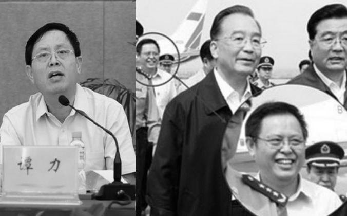 Тан Ли, заместитель губернатора провинции Хайнань, был привлечен к уголовной ответственности за «серьезные нарушения закона», согласно заявлению антикоррупционной службы от 8 июля. (Скриншот / hkwb.net & hk.apple.nextmedia.com) | Epoch Times Россия