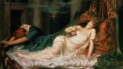 Египтолог: причина смерти Клеопатры не укус кобры
