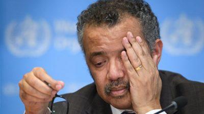 Глава ВОЗ причастен к геноциду? В Международный уголовный суд в Гааге поступила жалоба с обвинениями
