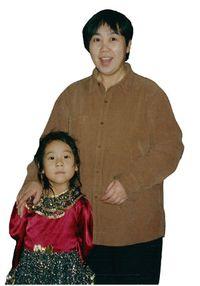 МаХуэйи её 8-летнюю дочь