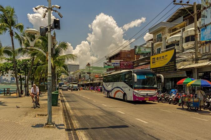 Гонки на кроватях прошли в Таиланде