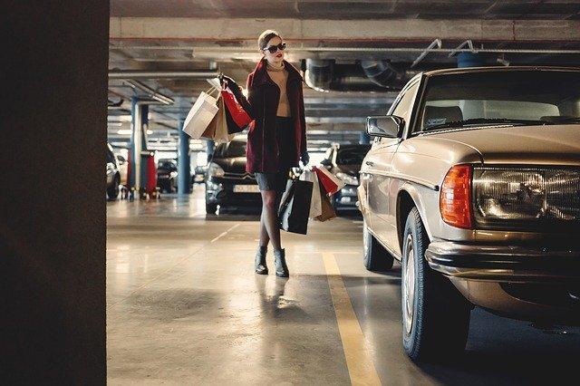 женщина мода