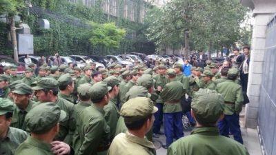 Ветераны в Китае требуют помощи от правительства