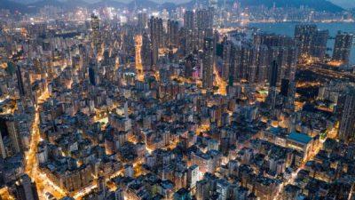 Демократические протесты не помешали росту продаж в Гонконге