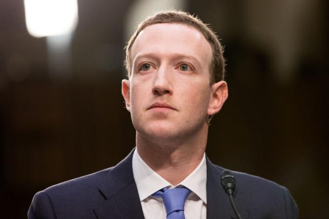 Основатель и генеральный директор «Фейсбука» Марк Цукерберг даёт показания на совместных слушаниях в Сенате в Вашингтоне 10 апреля 2018 года. Samira Bouaou/The Epoch Times | Epoch Times Россия