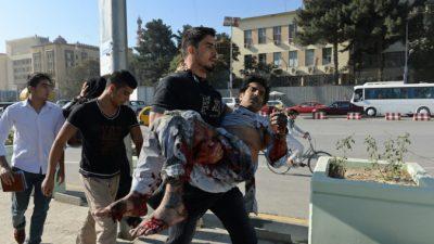Террорист-смертник на мотоцикле атаковал автомобиль посольства Великобритании в Кабуле