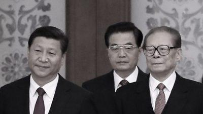 Враждующие китайские лидеры встретились на празднике
