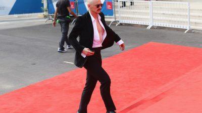 Джеймс Франко на Венецианском кинофестивале всех удивил